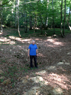 Tad Pritchett in Belleau Wood